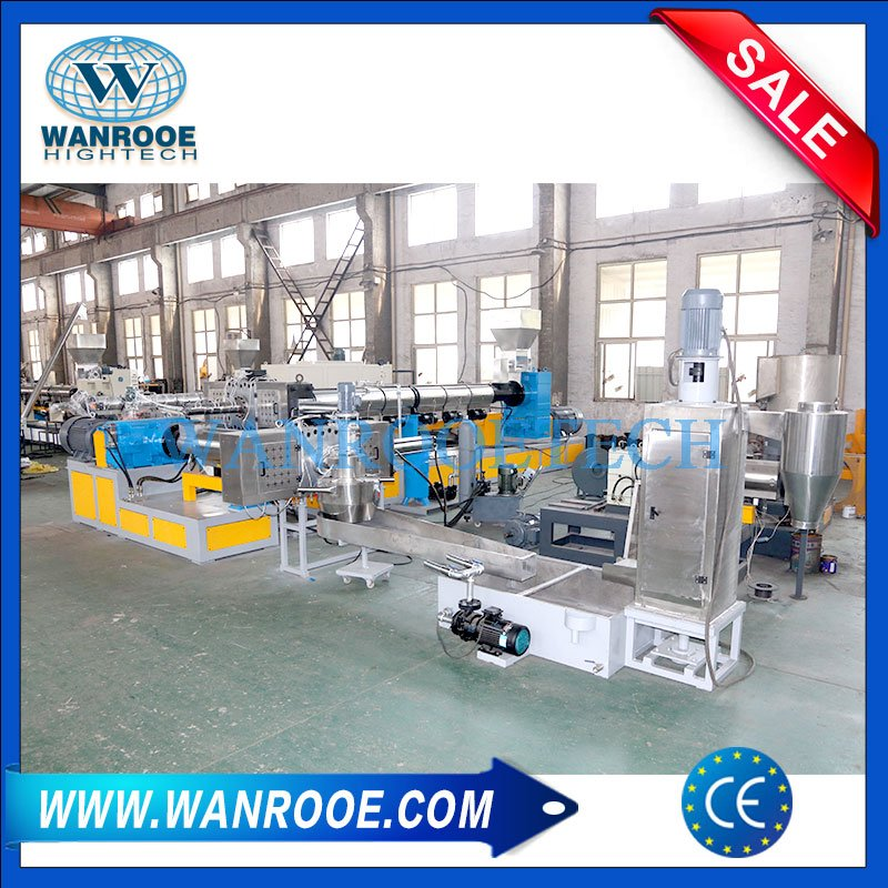 PP PE PET BOPP PA PVC Plastic Film Squeezing Pelletizer Drying Machine